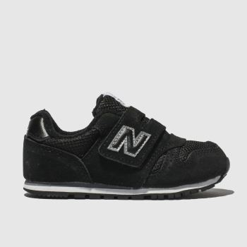 NEW BALANCE BLACK 373 TRAINERS TODDLER