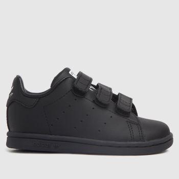 adidas Black & White Stan Smith 2v Unisex Toddler