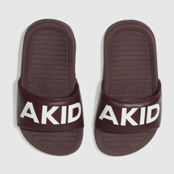 Akid Burgundy Aston Unisex Toddler