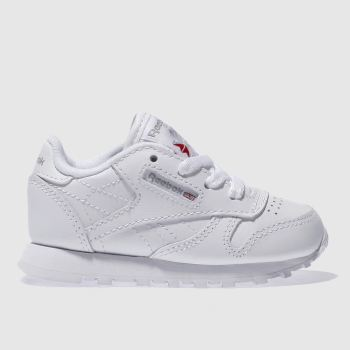 Reebok White Classic Leather Unisex Toddler