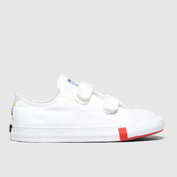 Converse White 2v Lo Logo Play Unisex Toddler