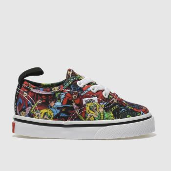 Vans Multi Authentic Marvel Characters Unisex Toddler