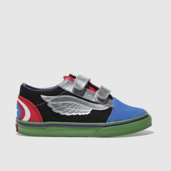 Vans Multi Old Skool Marvel Avengers Unisex Toddler