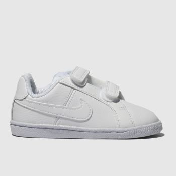 Nike White Court Royale Unisex Toddler