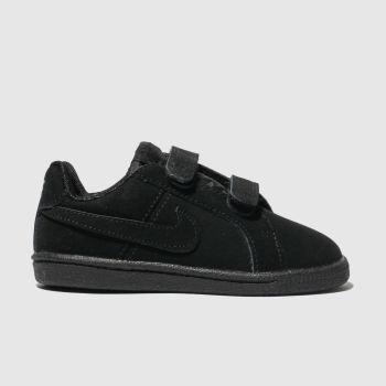Nike Black Court Royale Unisex Toddler