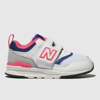 New Balance White & Blue 997 Unisex Toddler