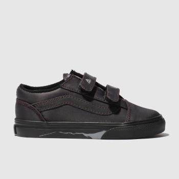 Vans Black Hp Deathly Hallows Old Skool Unisex Toddler