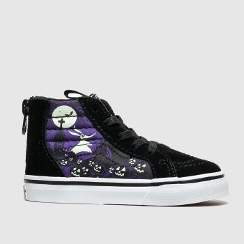 Vans Black & Purple Sk8-hi Zip X Tnbc Unisex Toddler
