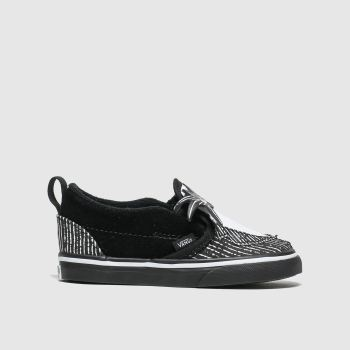 Vans Black & White Slip On X Tnbc Unisex Toddler