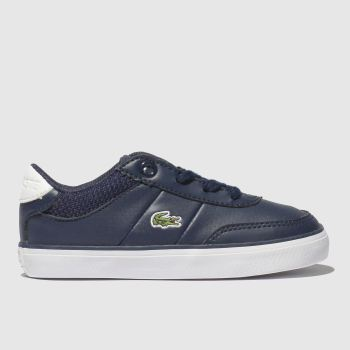 0b131a800 Lacoste Navy   White Court-Master Unisex Toddler