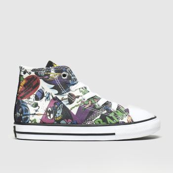 Converse Multi All Star Hi Batman Unisex Toddler