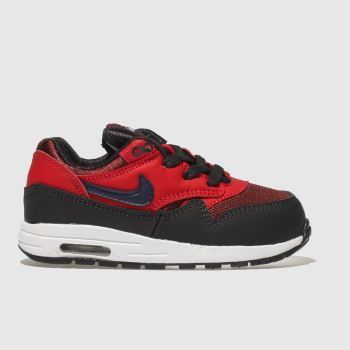 Nike Red Air Max 1 Unisex Toddler