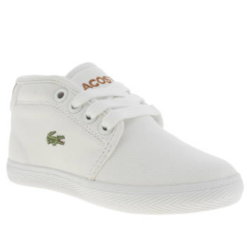 b5cfe7200 Price search results for lacoste white ampthill unisex toddler