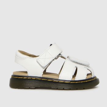 Dr Martens White Moby Ii Unisex Toddler
