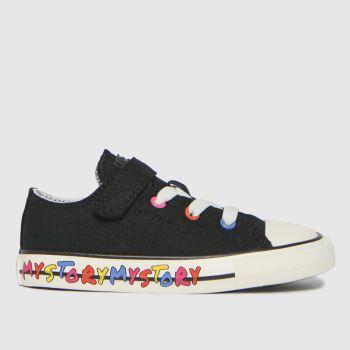Converse Black 1v Lo My Story Unisex Toddler