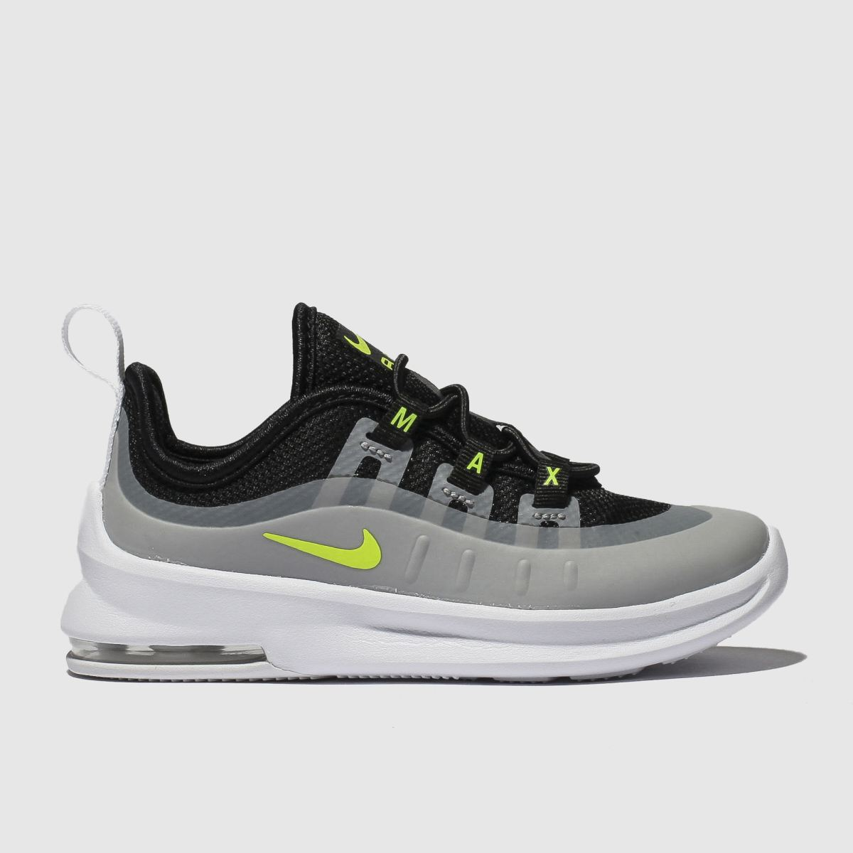 buy online b13a6 ff507 Nike Black   Grey Air Max Axis Trainers Toddler