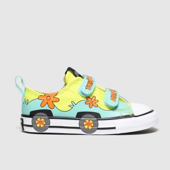 Converse Multi All Star 2v Lo Scooby Unisex Toddler