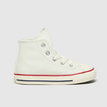 Converse White Hi Unisex Toddler