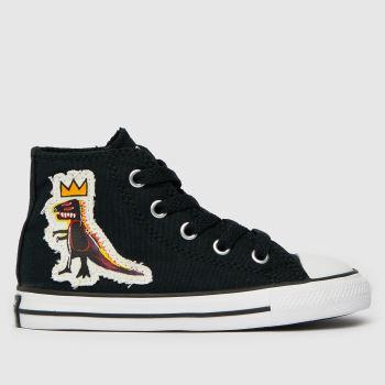 Converse Black & White Ctas Hi Basquiat Unisex Toddler