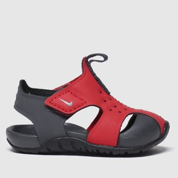Nike Black & Red Sunray Protect 2 c2namevalue::Unisex Toddler