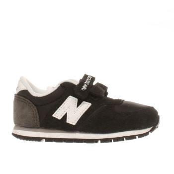 NEW BALANCE BLACK 420 TODDLER TRAINERS