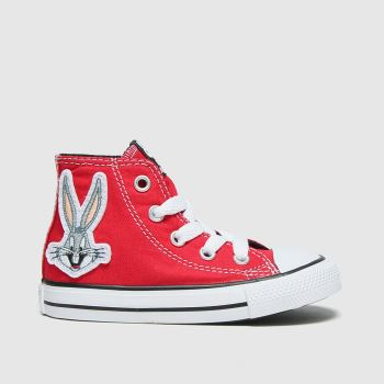 Converse Red Hi Bugs 80th Unisex Toddler#
