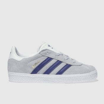 Adidas Grey & Navy Gazelle Unisex Toddler