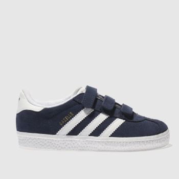 adidas Navy & White Gazelle Unisex Toddler#