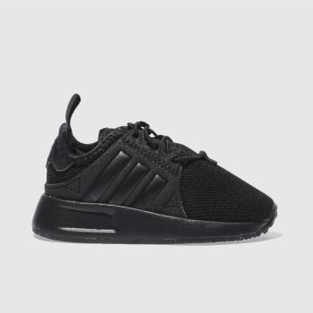 adidas black x_plr trainers toddler