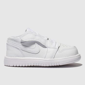Nike Jordan White 1 Low Unisex Toddler