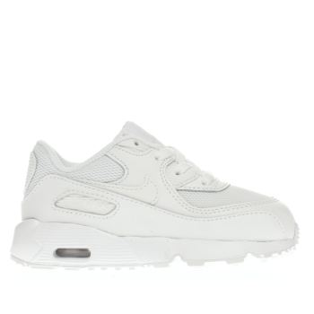 2042700fda53bb Kids Unisex white nike air max 90 mesh trainers