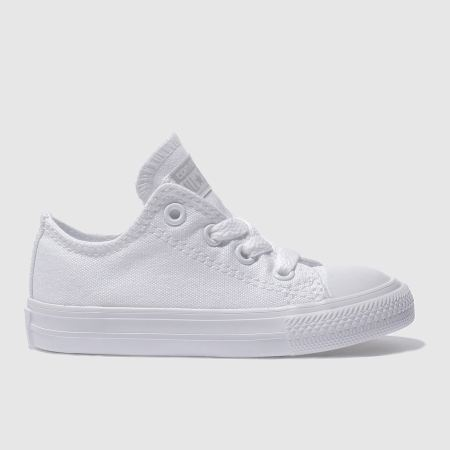 Kids Unisex white converse all star lo Boys Toddler | schuh