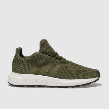 57e71d9cb77 Adidas Khaki Swift Run Unisex Toddler