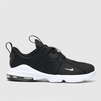 Nike Black & White Air Max Infinity Unisex Toddler