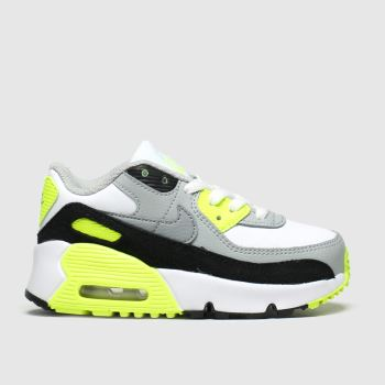 Nike White & Black Air Max 90 Ltr c2namevalue::Unisex Toddler