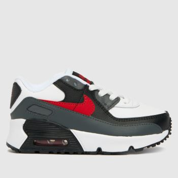 Nike Black & Grey Air Max 90 Ltr Unisex Toddler