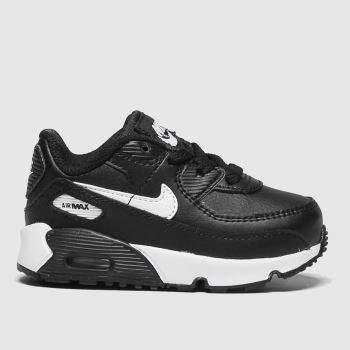 Nike Black & White Air Max 90 Ltr Unisex Toddler