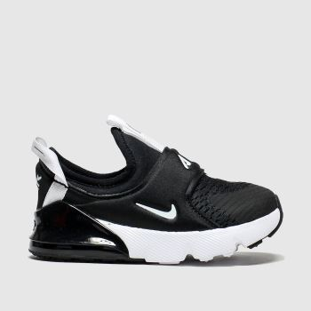 Nike Black & White 270 Extreme Unisex Toddler