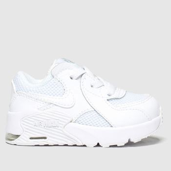 Nike White Air Max Excee Unisex Toddler#