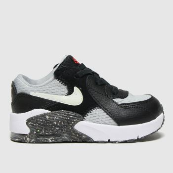 Nike Black & Grey Air Max Excee Unisex Toddler#