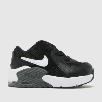 Nike Black & White Air Max Excee Unisex Toddler