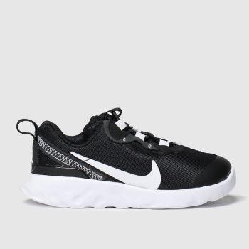 Nike Black & White Renew Element 55 Unisex Toddler#
