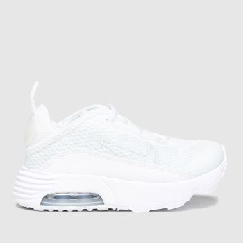 Nike White & grey Air Max 2090 Unisex Toddler