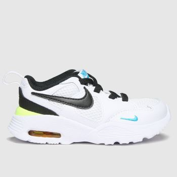 Nike White & Black Air Max Fusion Unisex Toddler