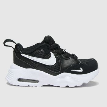 Nike Black & White Air Max Fusion Unisex Toddler