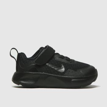 Nike Black Wearallday Unisex Toddler#