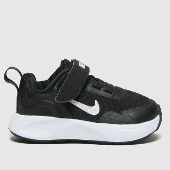 Nike Black & White Wearallday Unisex Toddler