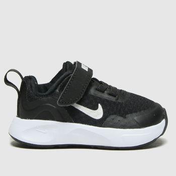 Nike Black & White Wearallday Unisex Toddler#