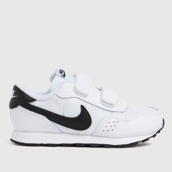 Nike White & Black Md Valiant Unisex Toddler