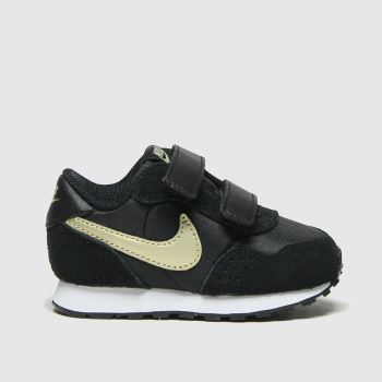 Nike Black & Gold Md Valiant Unisex Toddler